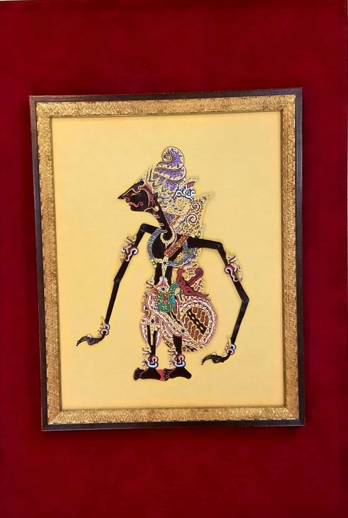 Handmade Leather Puppet Souvenir